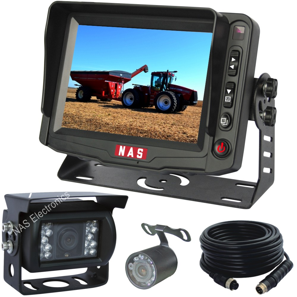 5inch Farm Equipment Reversing Camera Kit