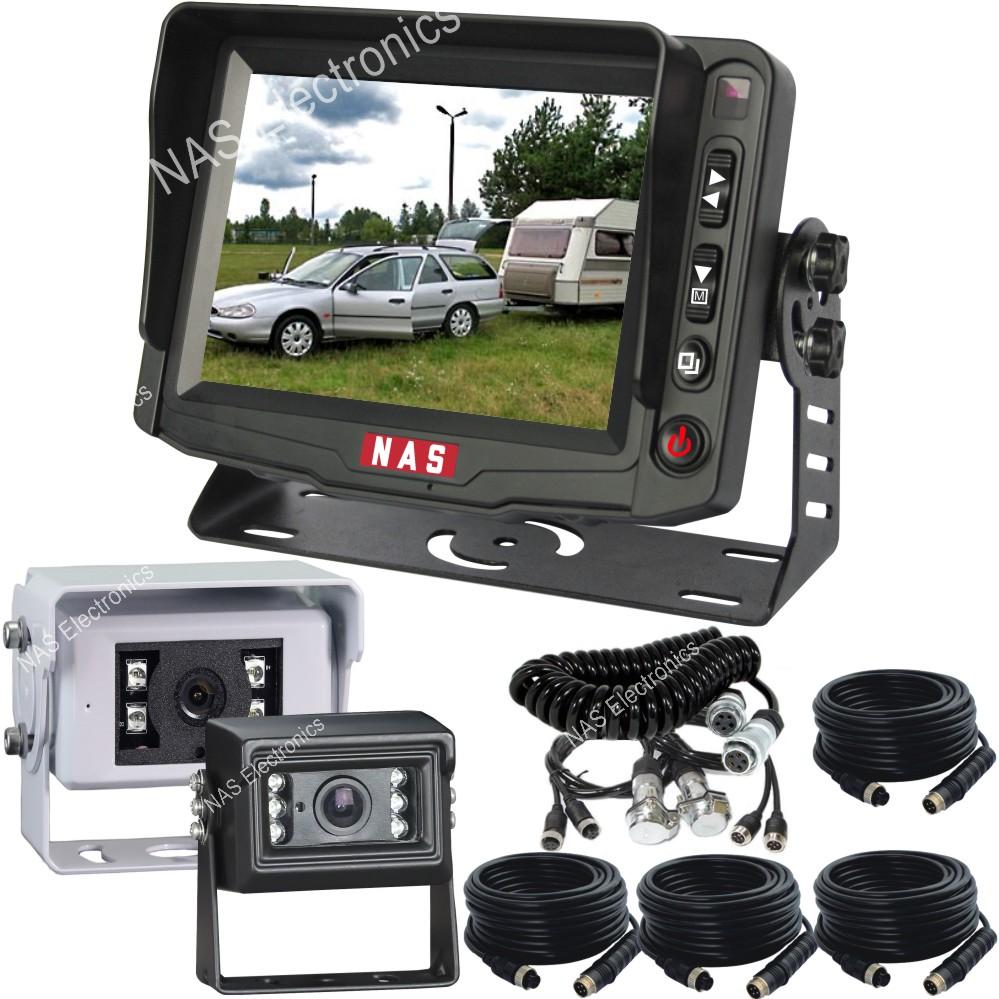 "5"" Caravan Reversing Camera Monitor Kit With Two ..."