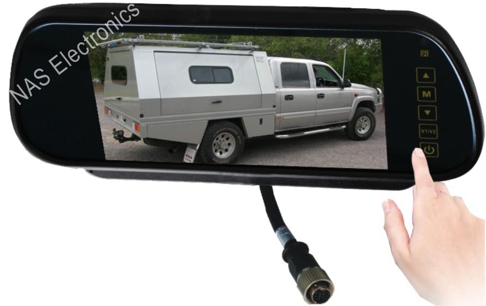 7inch vehicle reversing mirror monitor