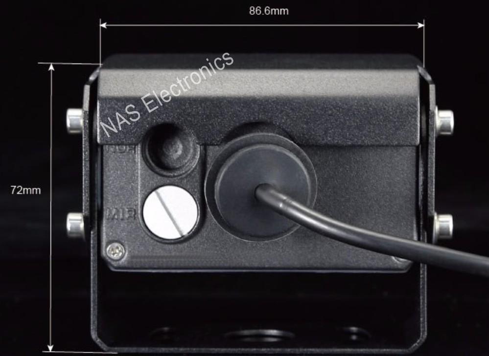 30 degree Car Backup CCD Camera Dimensions