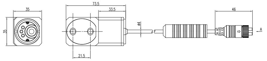 Forklift Cameras Dimensions