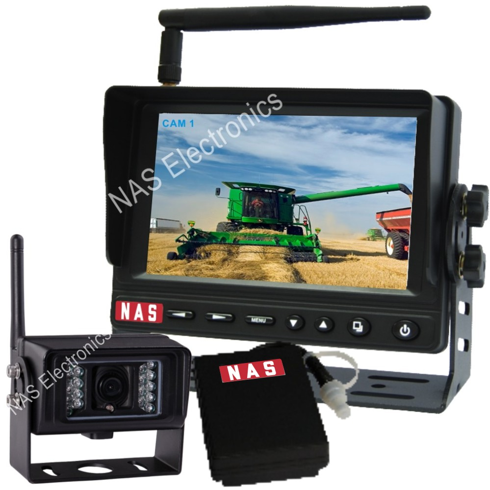 5inch Digital Wireless Rear View System With Mobile Power