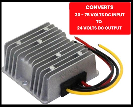 Regulator for Digital wireless converts 60vVto 24V