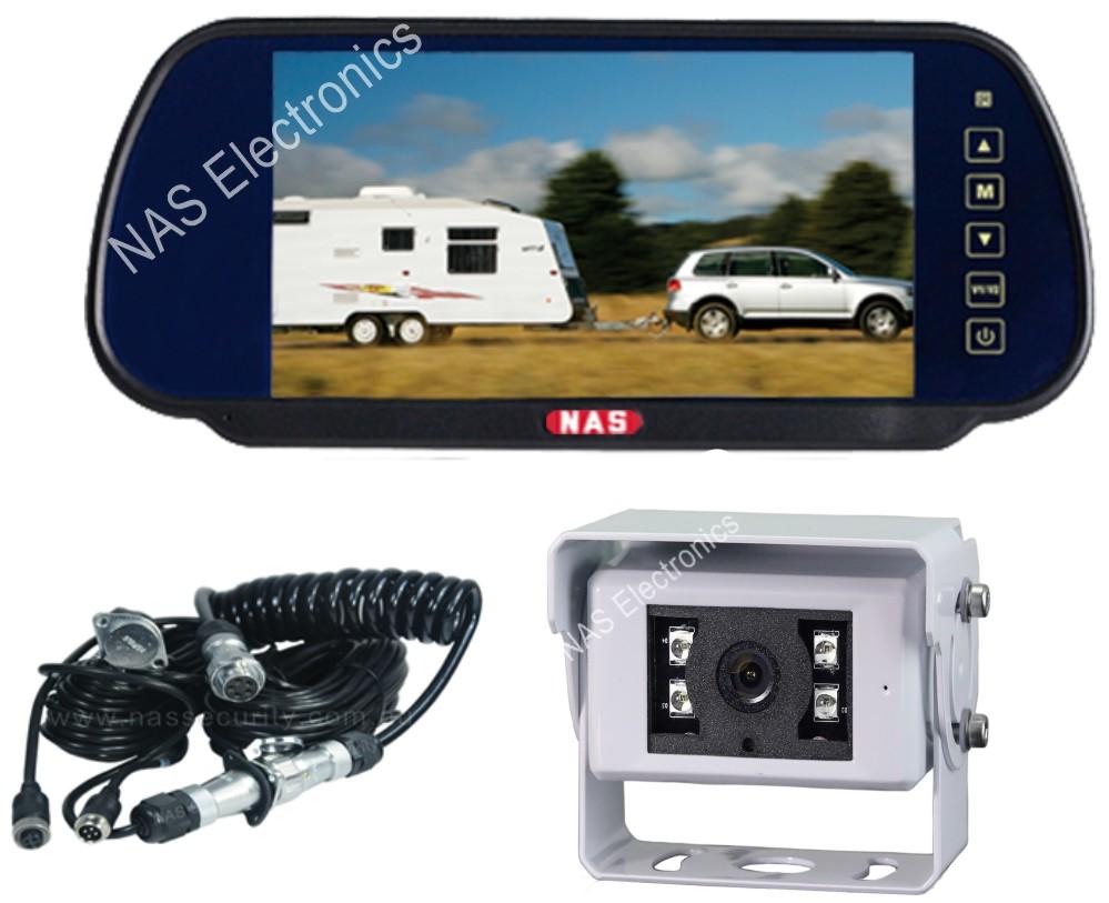 Caravan Mirror Monitor Camera Kit