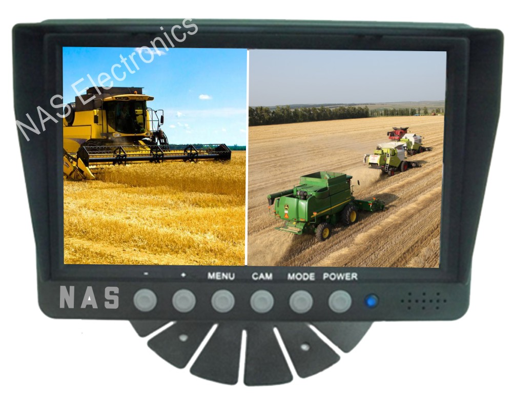 7inch Farm View Monitor Two Splits