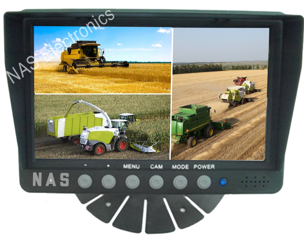 7inch Farmview Monitor Three Splits
