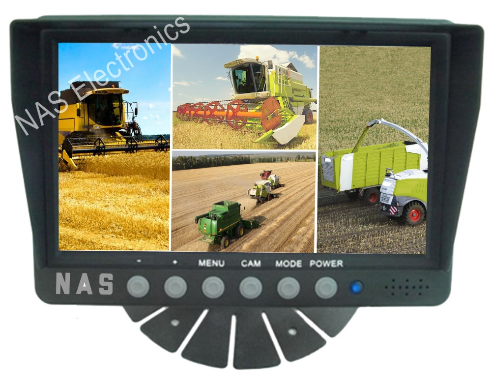 Farm View 7inch Quad Monitor