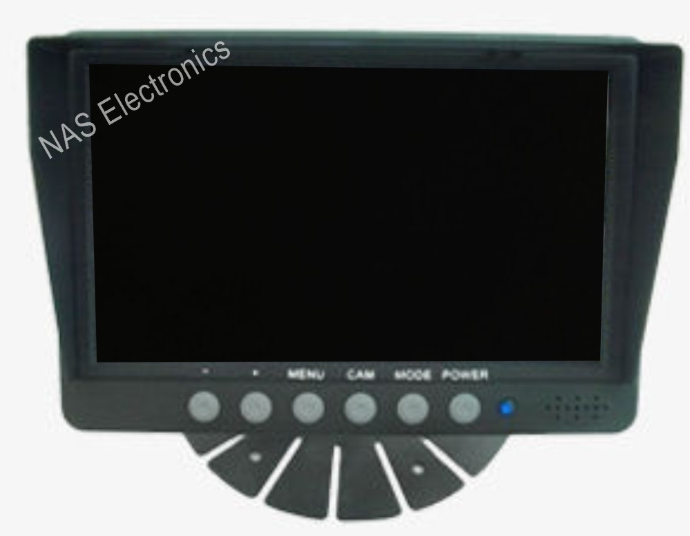 7inch Quad Wired Monitor