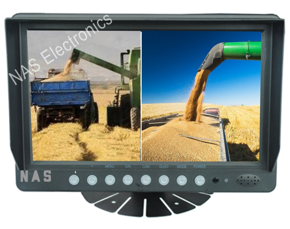9inch Farm View Monitor Two Splits