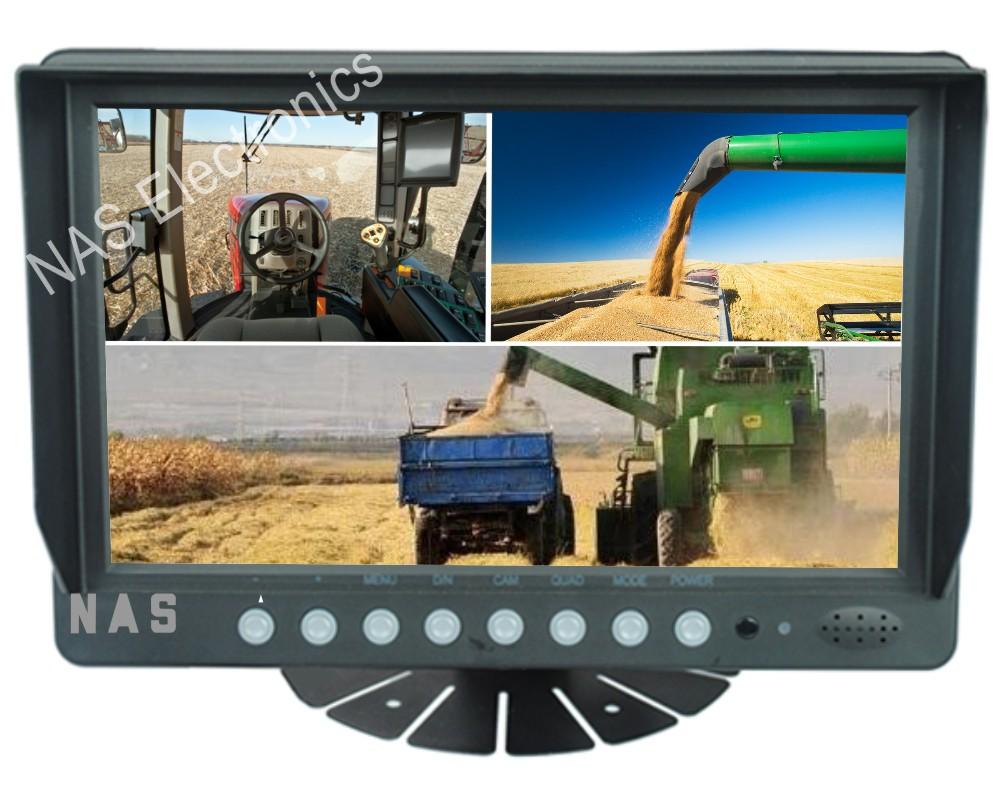 9inch Farm View Monitor Three Splits