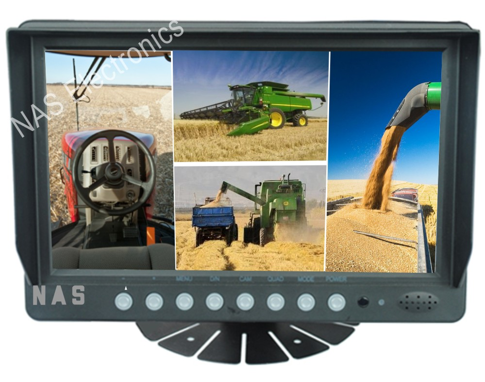 Farm View 9inch Quad Monitor