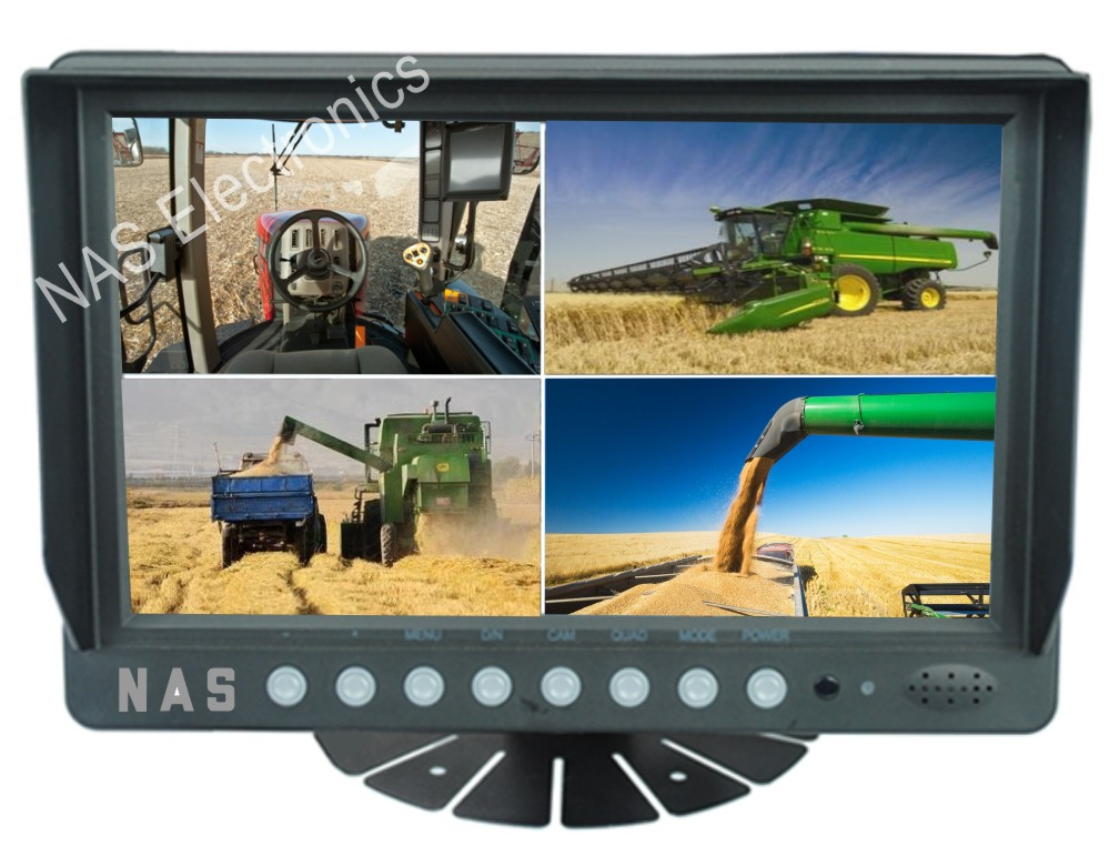 9inch Vehicle Reversing Quad Monitor