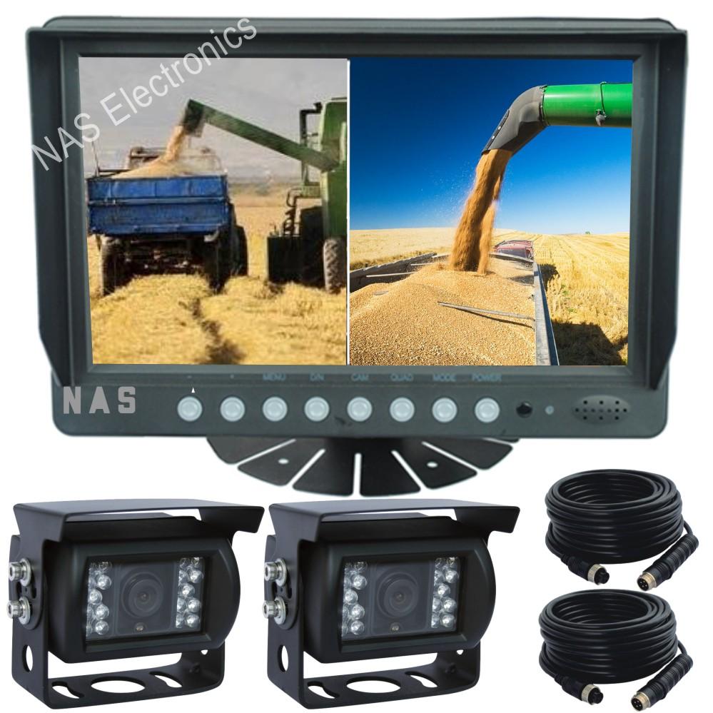 9inch Farm View Monitor Camera Kit