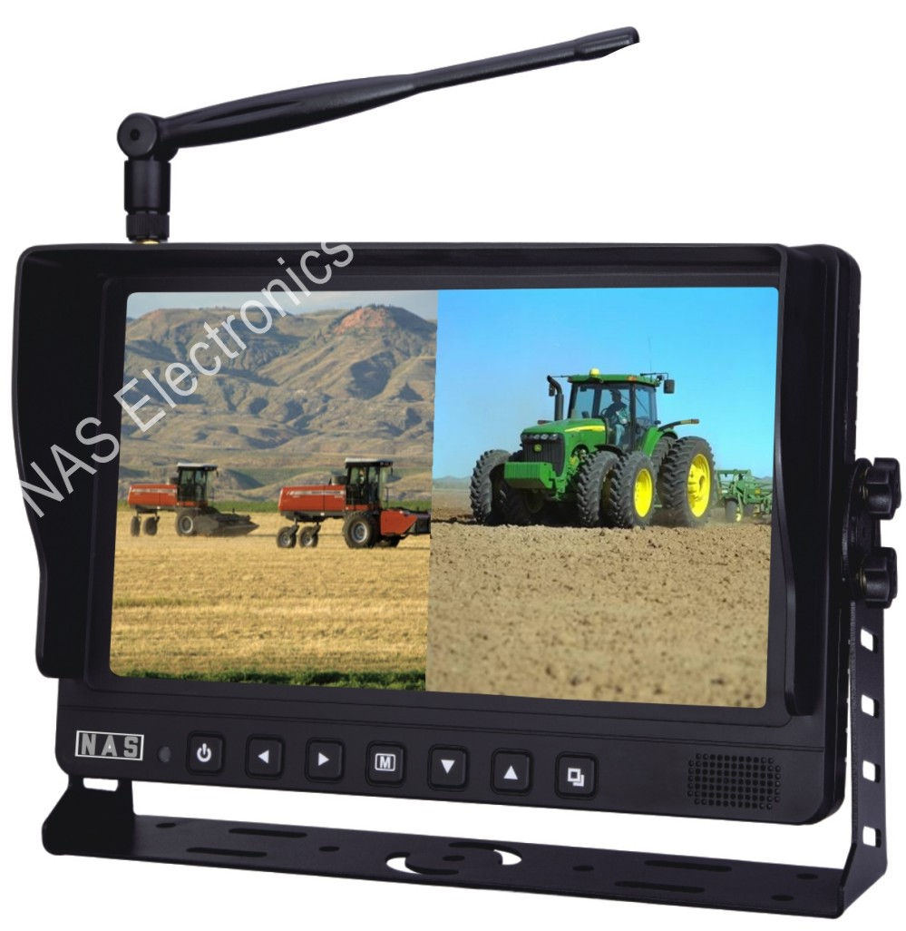 Car Reversing 9inch 2.4G Digital Wireless Monitor