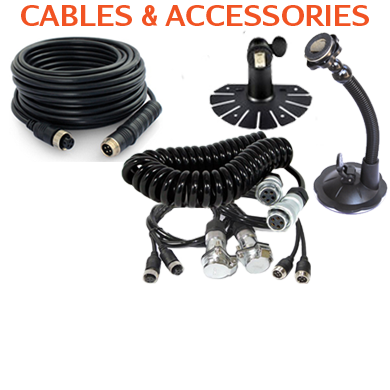 Backup Camera Cable and Accessories