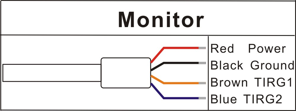 5inch Wireless Monitor Cable Interface Definition