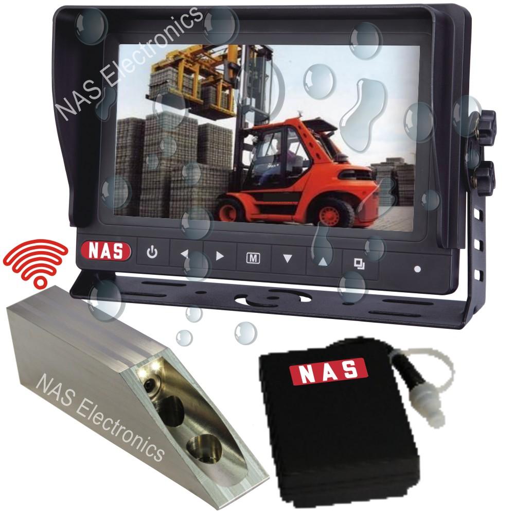 7inch Digital Wireless Waterproof Monitor Forklift Camera Kit