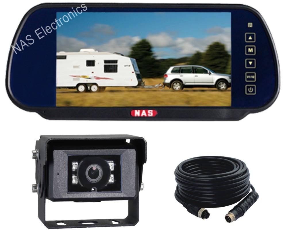 7inch Farm View Mirror Monitor Camera Kit