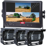 9inch Monitor kit with 3 cameras