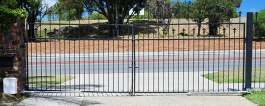 Wrought Iron Gate Automation