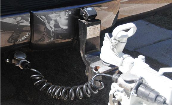 Caravan  Trailer Hitch Reversing Camera System