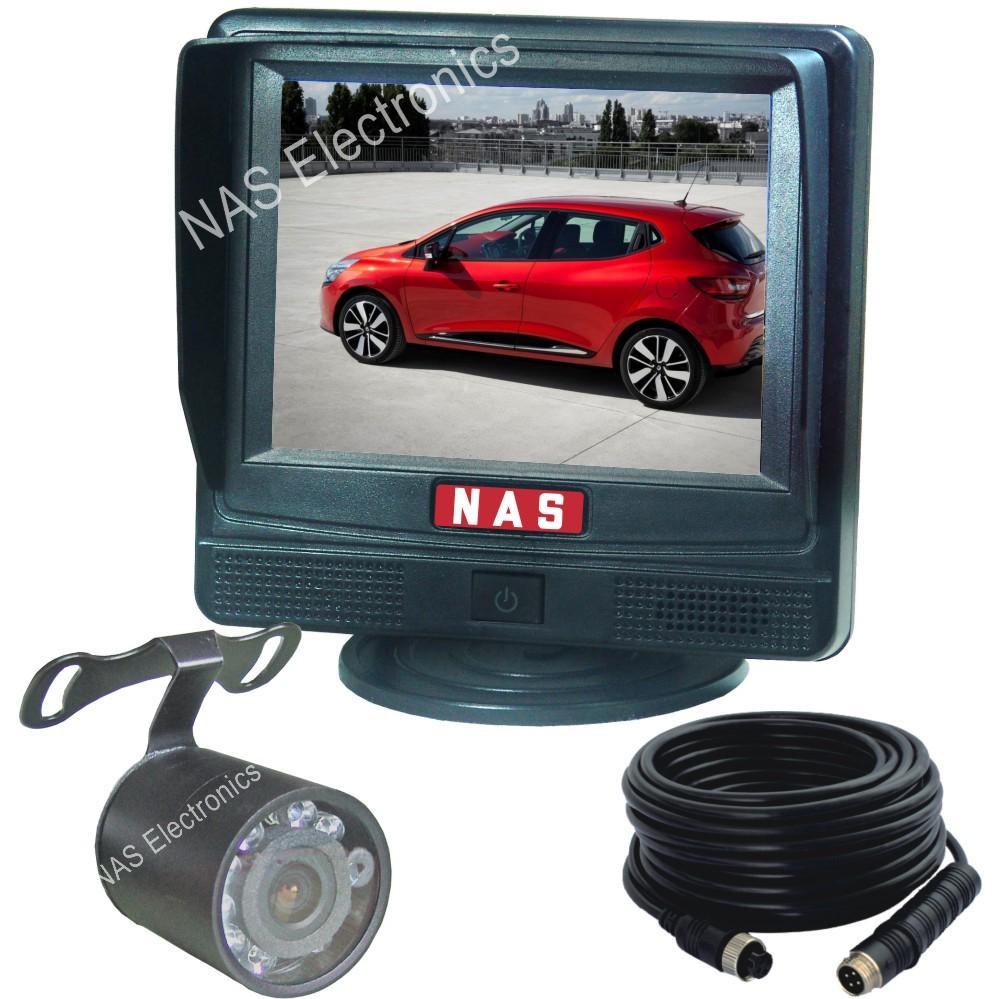 "Car Rear View System 3.5"" Monitor Camera Kit"