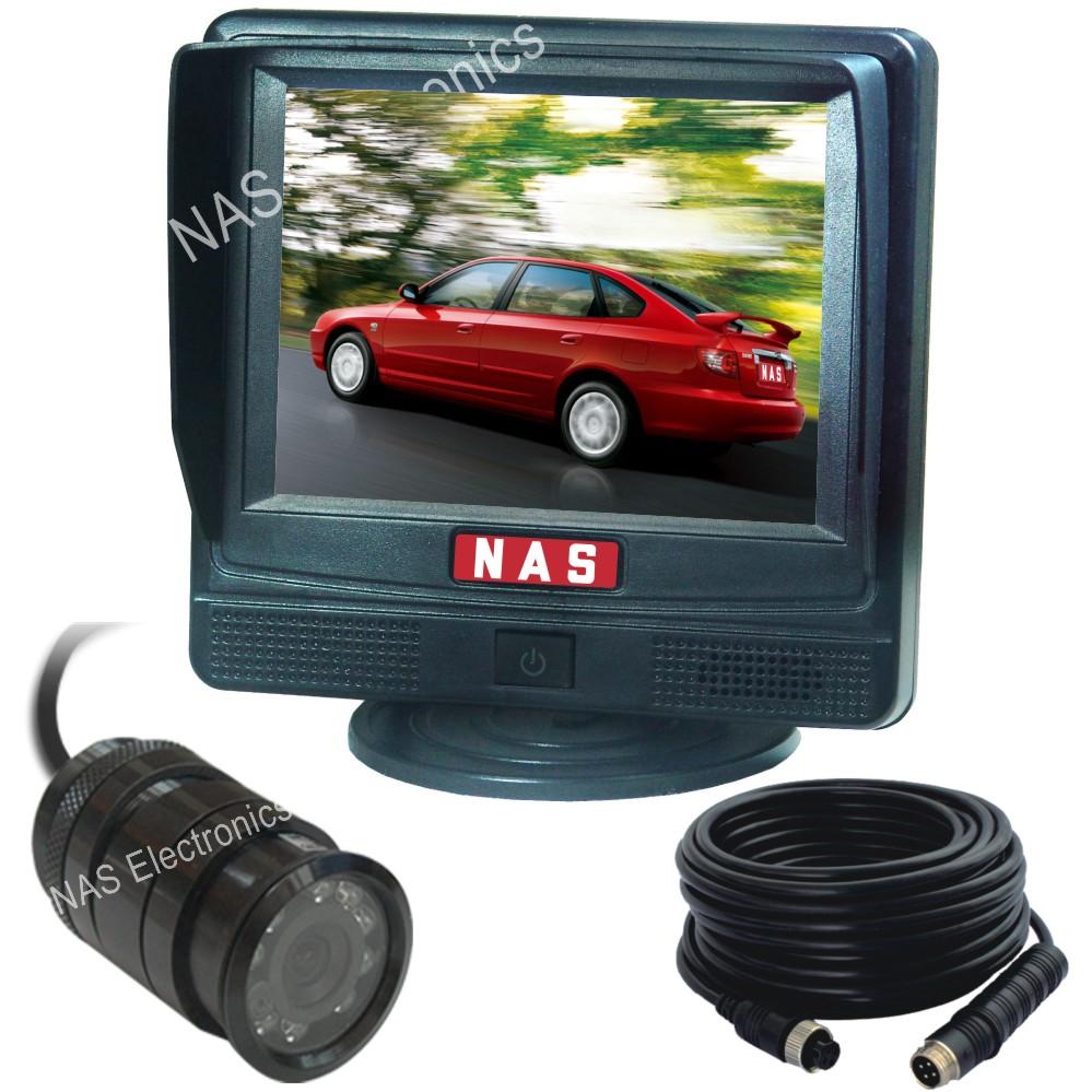"""Car Rear View 3.5"""" Monitor Camera Kit"""