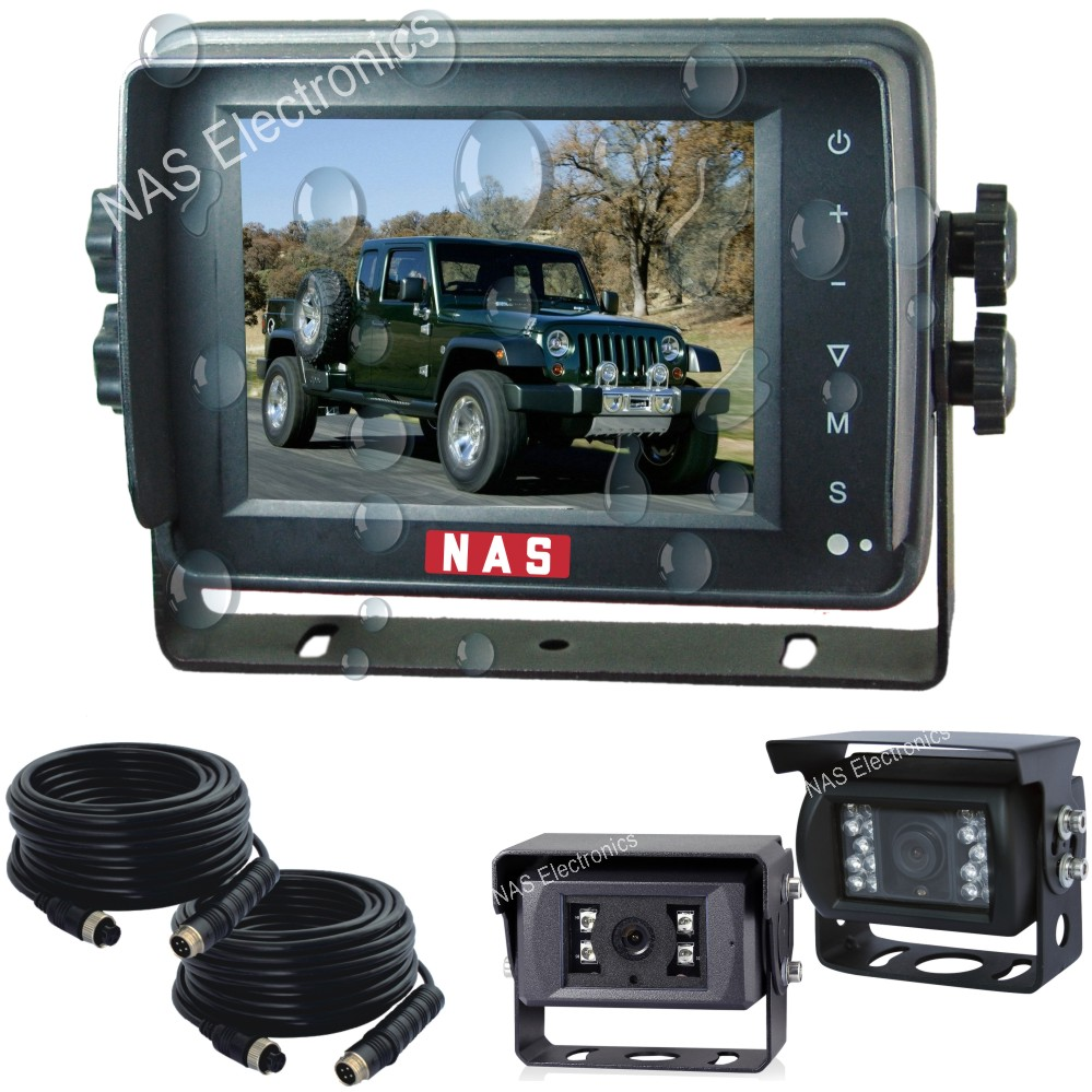 5inch Car Reversing Waterproof Monitor Camera Kit
