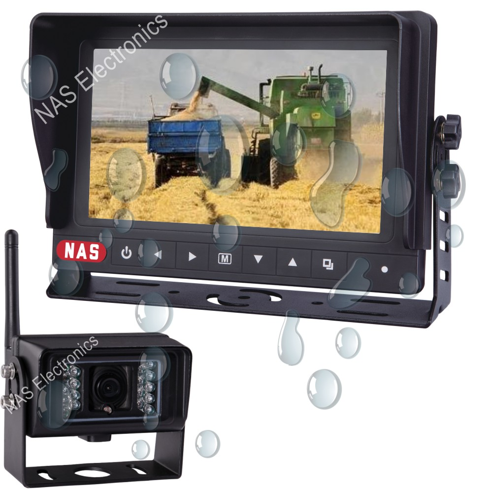 7inch Digital Wireless Waterproof Monitor Kit