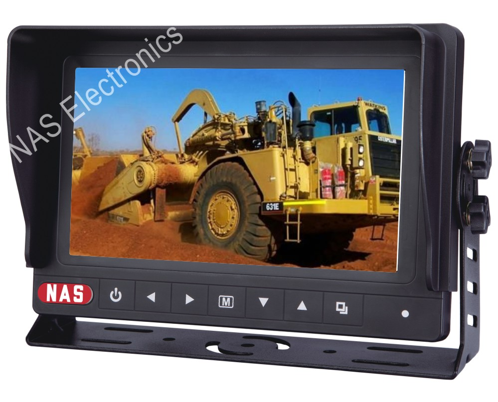 7inch farming reversing waterproof monitor