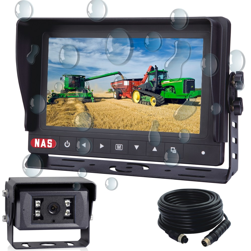 7inch Waterproof Monitor Camera Kit