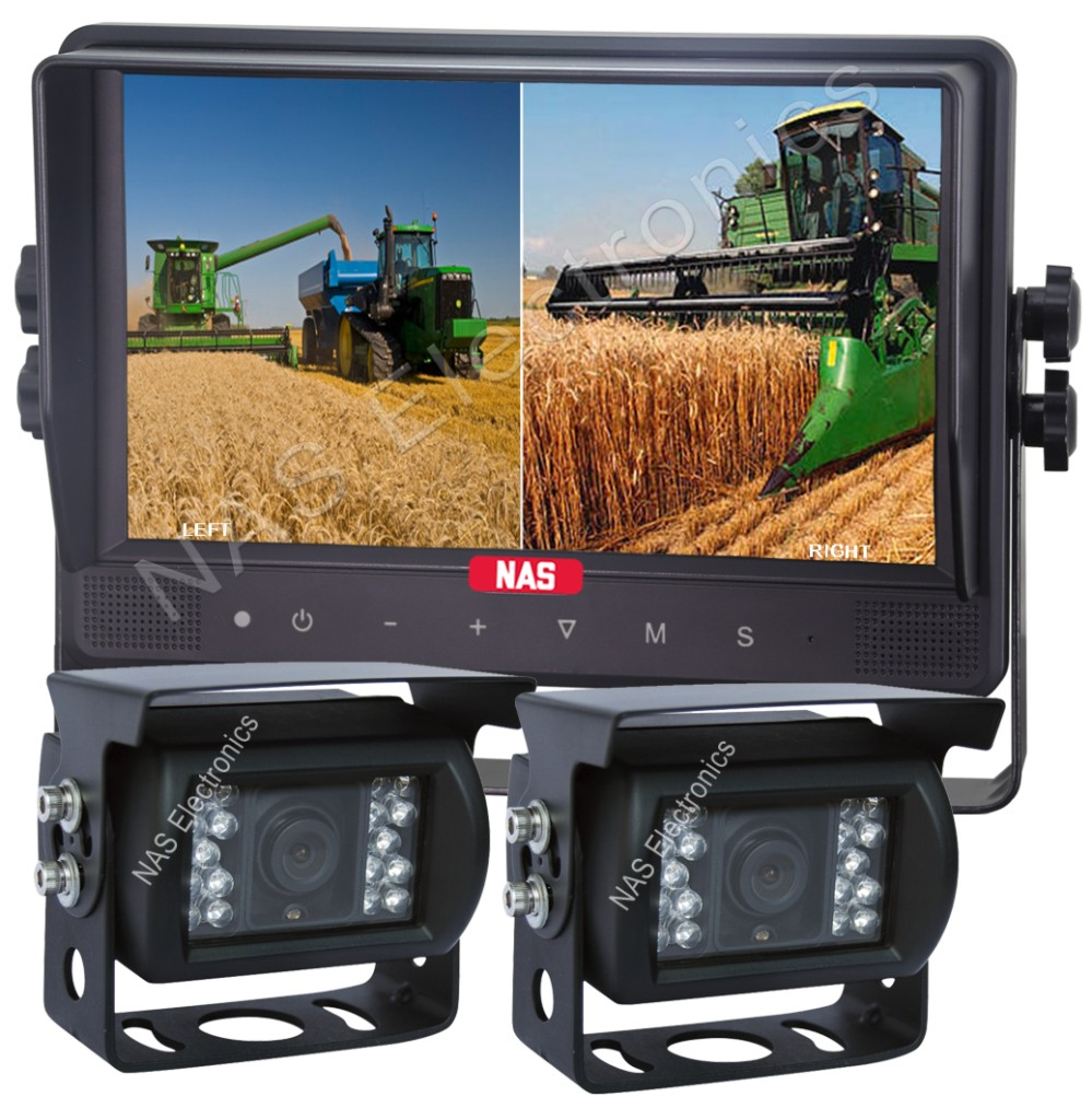 """Farming 9"""" Quad Rear View System"""