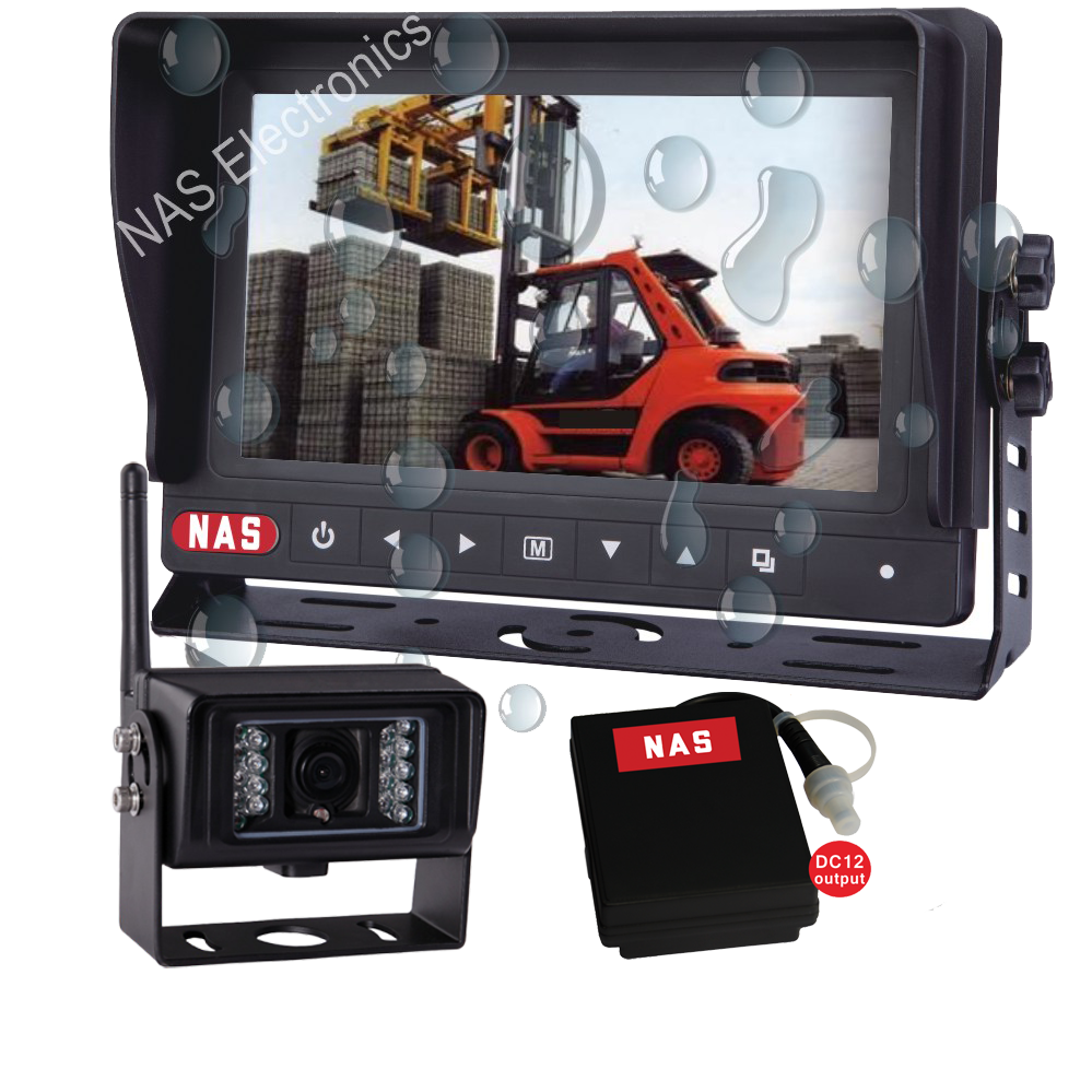 7inch Digital Wireless Waterproof Monitor Camera Kit