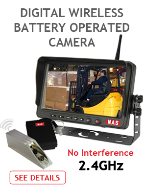 Battery Operated Reversing Camera Digital Wireless