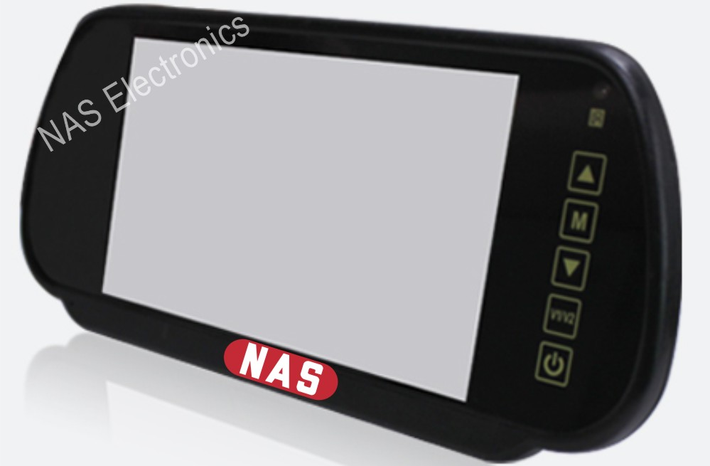 7inch mirror monitor from view