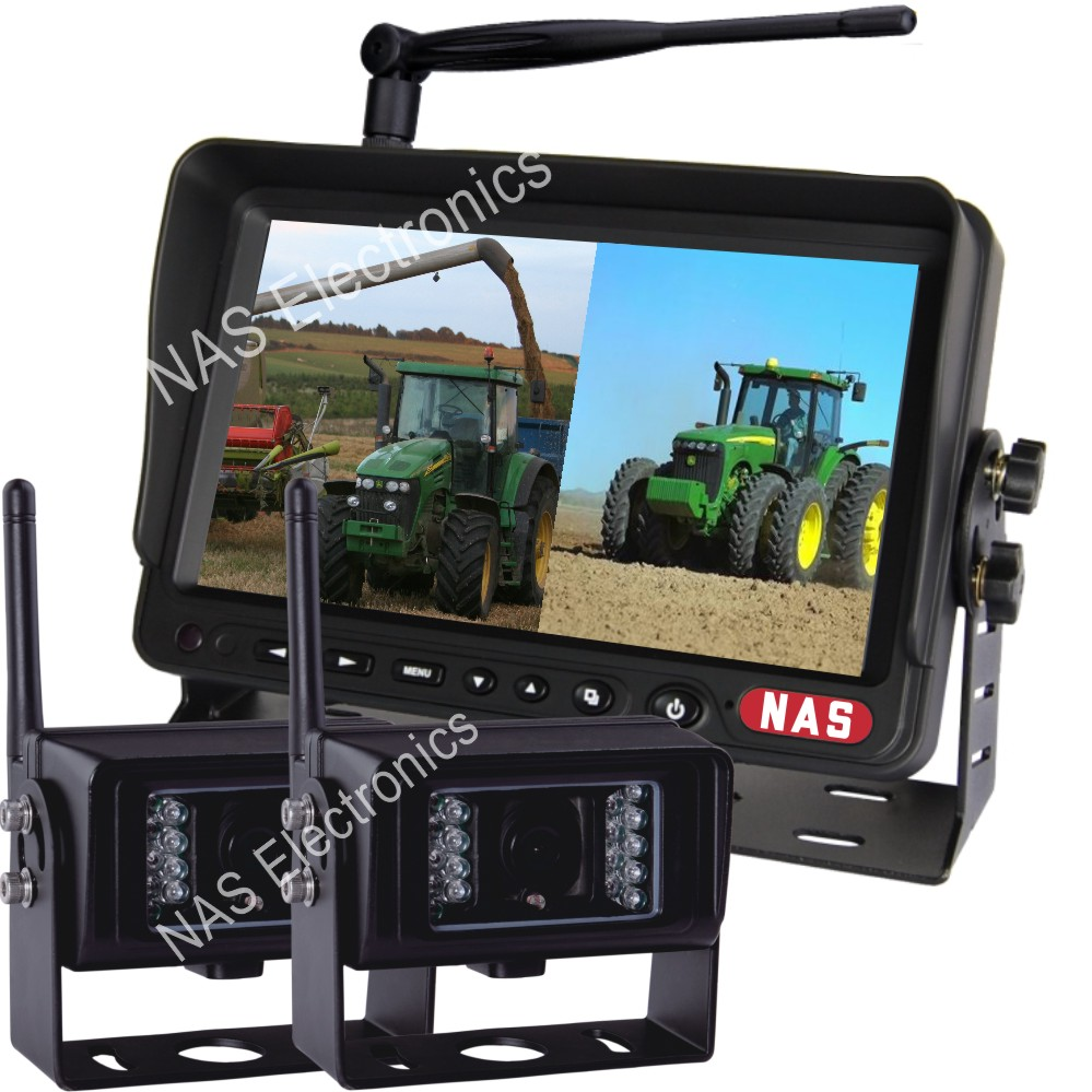 7inch Digital Wireless Rear View System