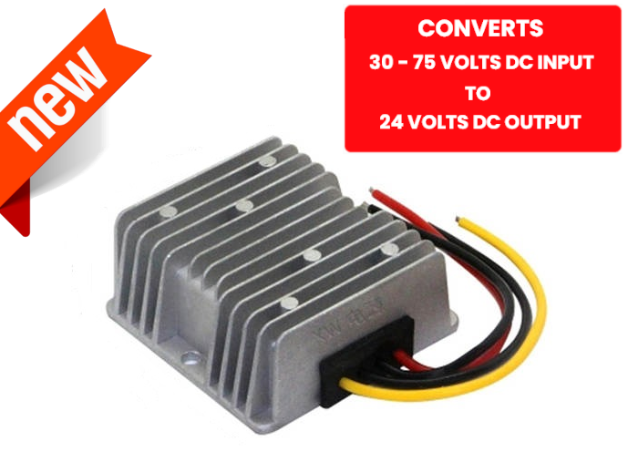 60V to 24V DC Voltage Regulator