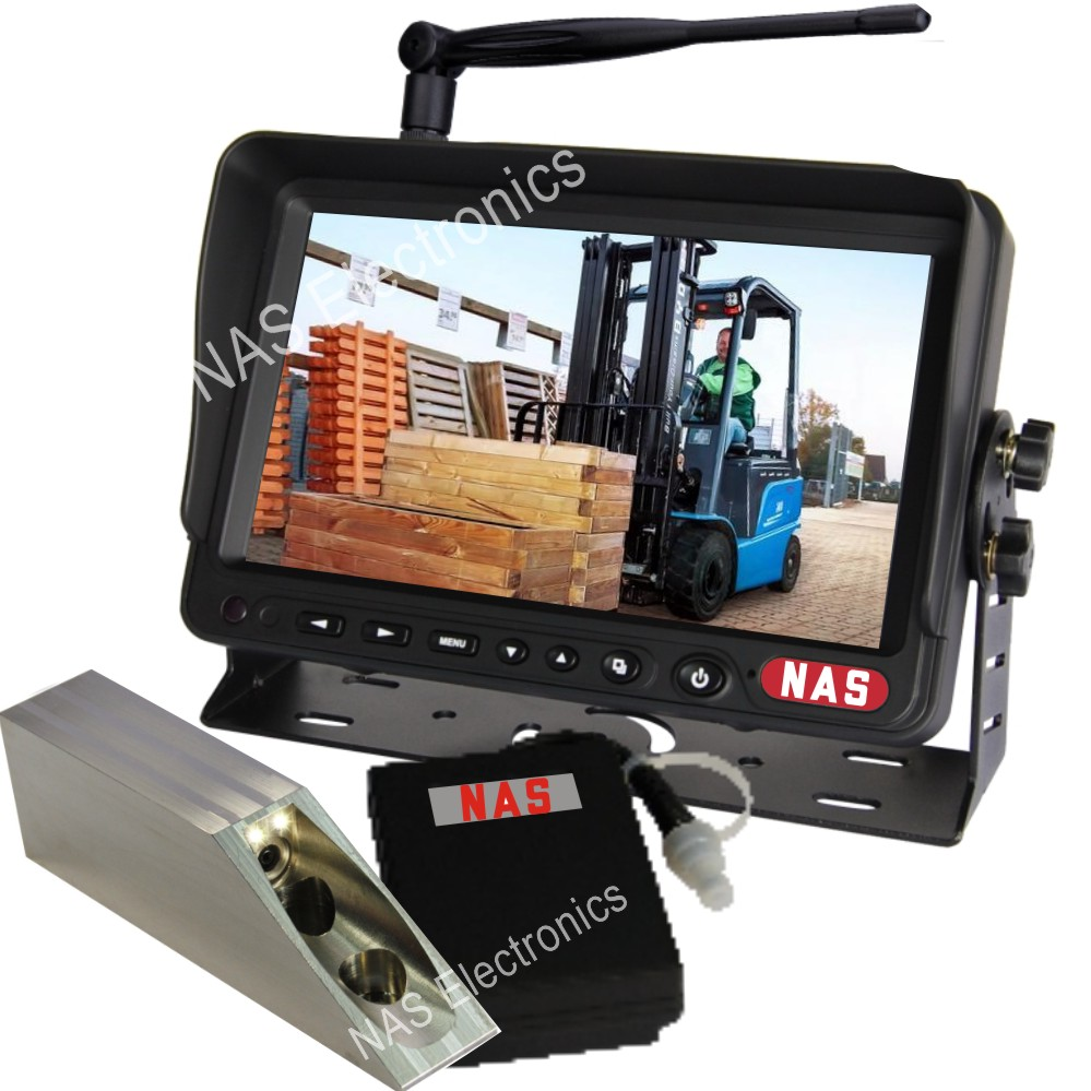 Digital Wireless Battery Forklift Camera Kit