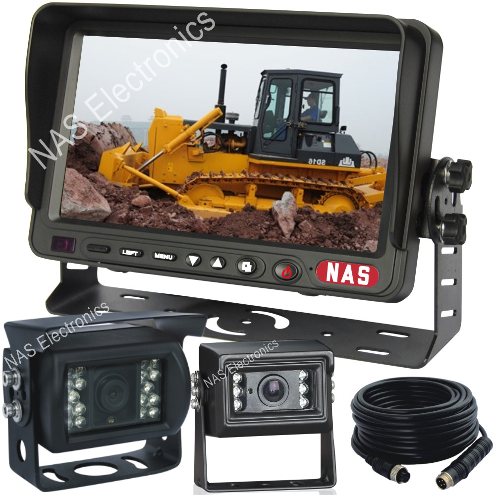 Bulldozer Rear-View Two Camera System (R-K70287)
