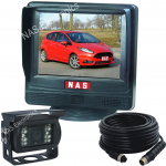 Small Reversing Camera monitor with high quality camera