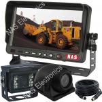 Mining reversing camera system