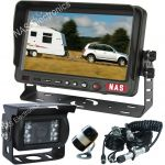 Caravan reversing camera kit with susie cable