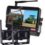 7inch 2.4G Digital Wireless Farming System