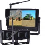 9 inch Digital Wireless Observation Cameras for farm machinery
