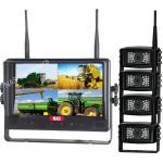 "9"" Quad Digital Wireless Dash cam"