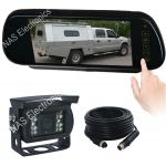 "7"" Mirror Reversing Camera Monitor System With Touch Button Mirror Monitor"