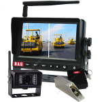Digital Wireless 5inch Monitor & Strong Metal Cased Camera With Battery Pack & Digital Wireless Camera