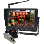 9inch Digital Wireless with Fork Lift Camera & Battery pack