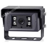 White and Black 120° Sharp CCD Wide Angled Vehicle Reversing Waterproof Camera