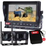 Waterproof Digital Wireless Monitor Two Cameras & Battery Pack